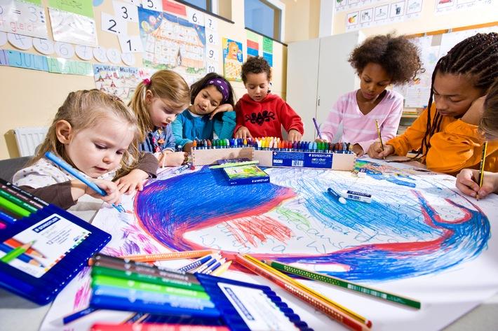 STAEDTLER: Wie Kinder malerisch die Welt entdecken
