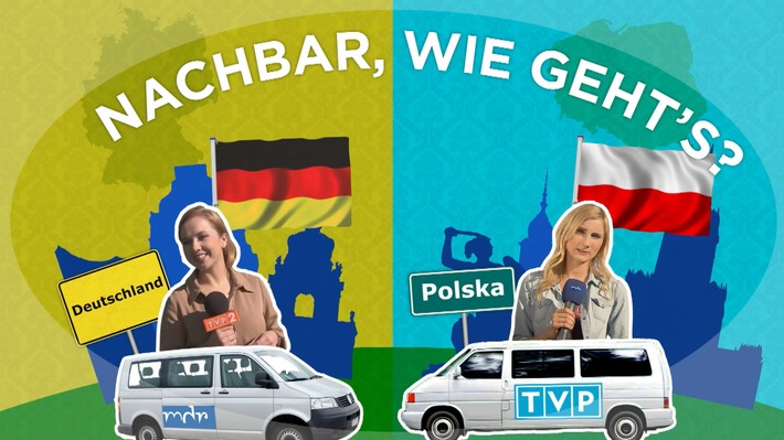 Deutsch-polnischer Nachbarschaftscheck mit exklusiven Umfrage-Ergebnissen im MDR FERNSEHEN