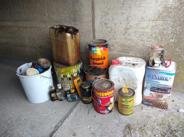POL-HI: Unerlaubtes Entsorgen von Abfällen