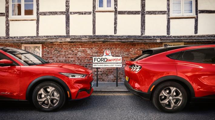 Ford verwandelt Fordwich/Großbritannien in