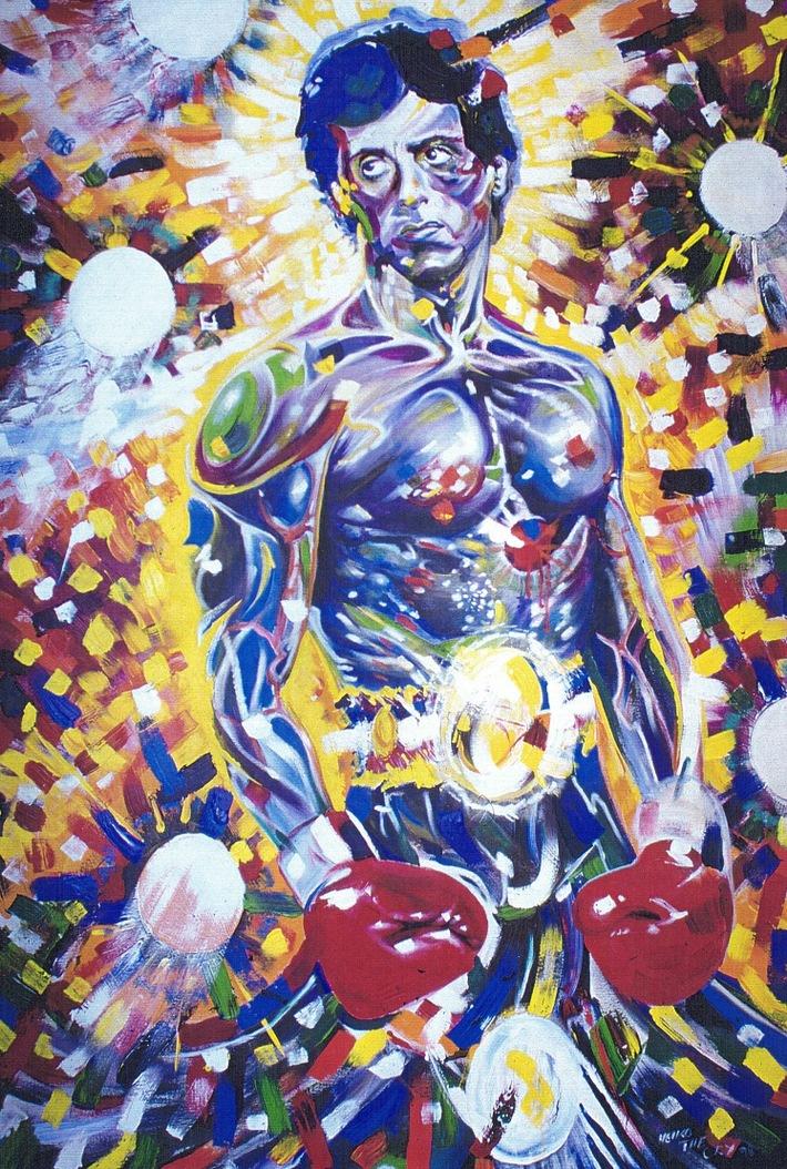 Eye of the artist! / Rocky The Last - Eine Story wie im Film! / Power Painting zum Treatment für Sylvester Stallone!