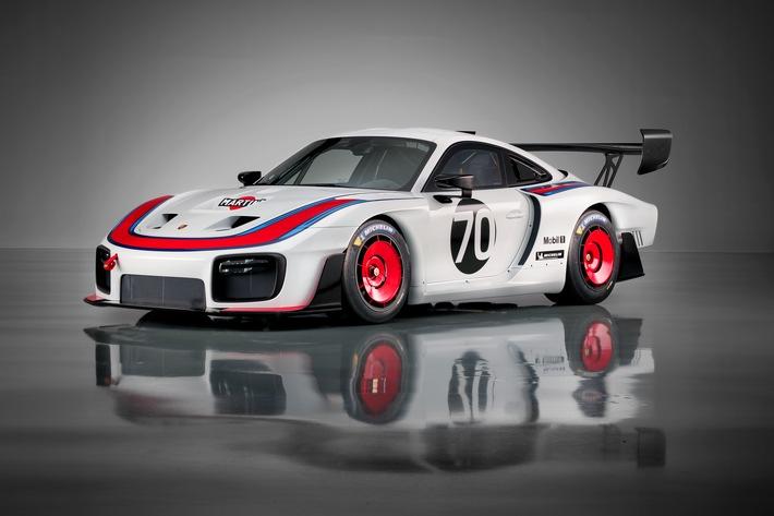 """Exklusive Neuauflage des Porsche 935 Weiterer Text über ots und www.presseportal.ch/de/nr/100050872 / Die Verwendung dieses Bildes ist für redaktionelle Zwecke honorarfrei. Veröffentlichung bitte unter Quellenangabe: """"obs/Porsche Schweiz AG"""""""