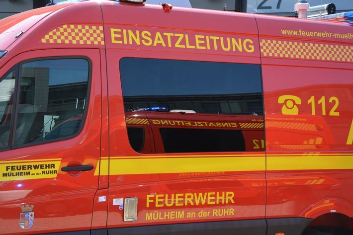 FW-MH: Feuerwehreinsatz auf der Oberhausener Str. - Eine verletzte Person #fwmh