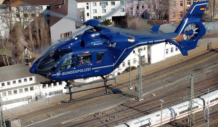 Symbolfoto Hubschrauber der Bundespolizei