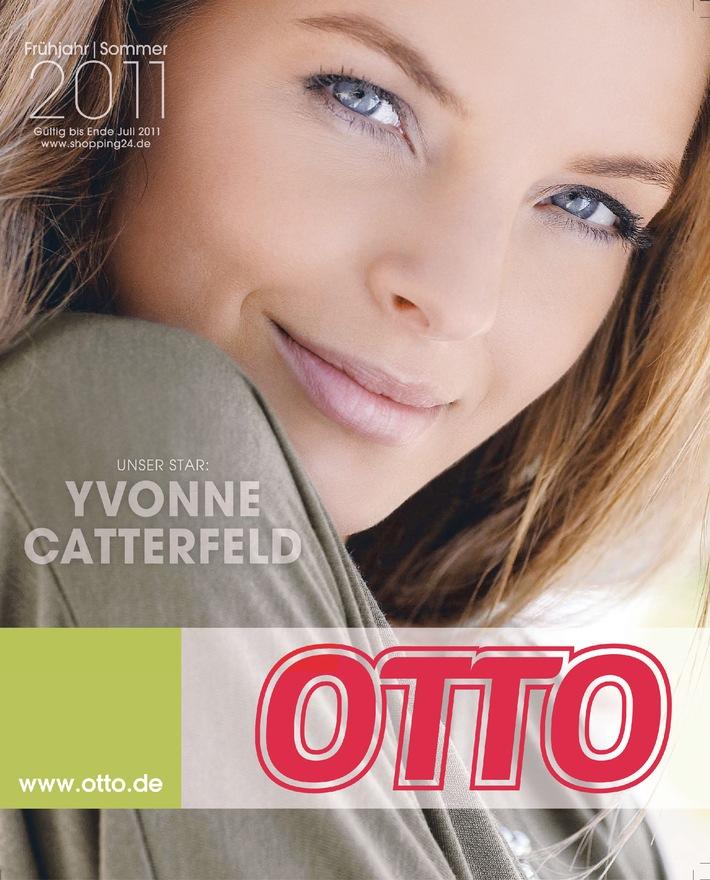"""Yvonne Catterfeld - der Coverstar des OTTO Katalog Frühjahr/Sommer 2011. Die Verwendung dieses Bildes ist für redaktionelle Zwecke honorarfrei. Veröffentlichung bitte unter Quellenangabe: """"obs/OTTO (GmbH & Co KG)"""""""