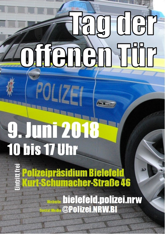 Tag der offenen Tür Polizei Bielefeld