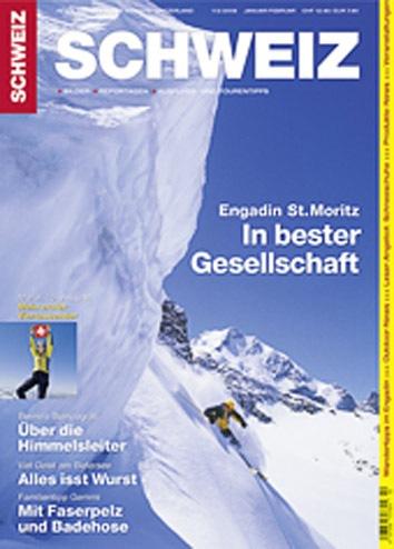 Revue SCHWEIZ 1+2/08: Engadin St. Moritz - In bester Gesellschaft