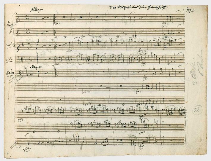 Auktion in Berlin: Wertvolle Manuskripte und Briefe von Mozart, Schiller, Chopin und Kant