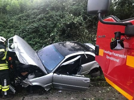 FW-EN: Verkehrsunfall auf der BAB 43