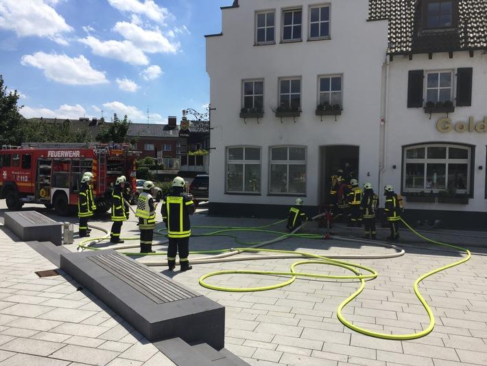 FW-Dorsten: Zimmerbrand machte Wohnung unbewohnbar-verletzt wurde niemand