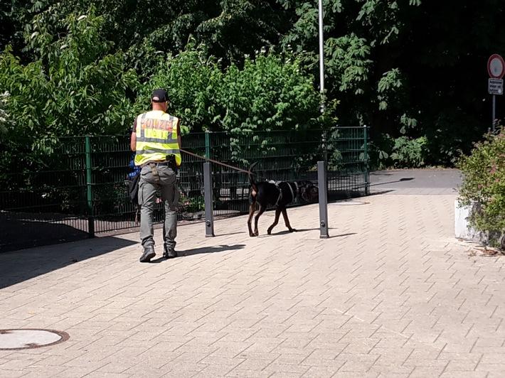 Hundeführer der Zentralen Polizeidirektion Hannover in Cuxhaven