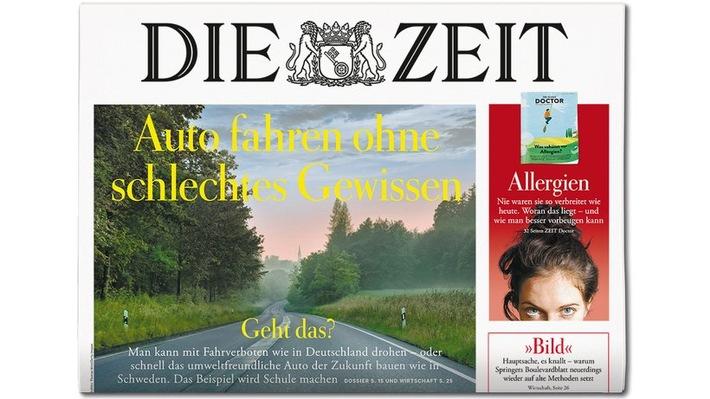 """DIE ZEIT 10/18 Weiterer Text über ots und www.presseportal.de/nr/9377 / Die Verwendung dieses Bildes ist für redaktionelle Zwecke honorarfrei. Veröffentlichung bitte unter Quellenangabe: """"obs/DIE ZEIT"""""""