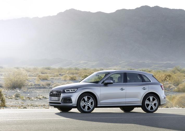in 1.878.100 verkaufte Automobile: Audi schließt 2017 mit neuem Absatz-Bestwert ab