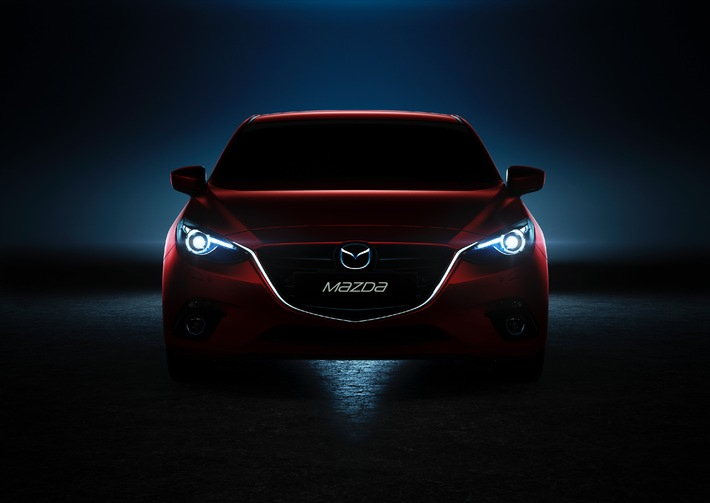 Weltpremiere des neuen Mazda3 (BILD)