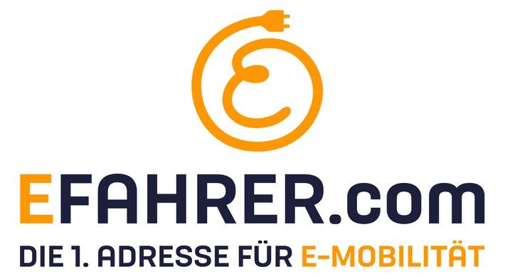 """Logo EFahrer.com / Weiterer Text über ots und www.presseportal.de/nr/121533 / Die Verwendung dieses Bildes ist für redaktionelle Zwecke honorarfrei. Veröffentlichung bitte unter Quellenangabe: """"obs/BurdaForward GmbH/Copyright: EFahrer.com"""""""