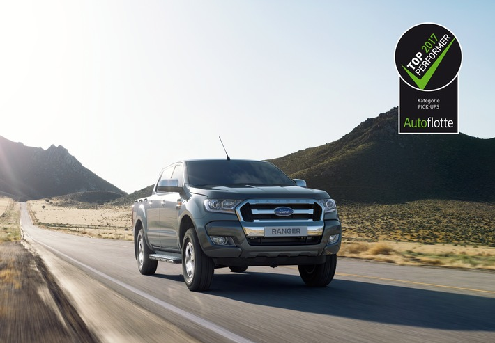 """Ford Ranger. Weiterer Text über ots und www.presseportal.de/nr/6955 / Die Verwendung dieses Bildes ist für redaktionelle Zwecke honorarfrei. Veröffentlichung bitte unter Quellenangabe: """"obs/Ford-Werke GmbH/John Roe"""""""