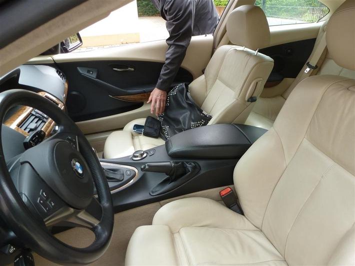 Räumen Sie Ihr Auto aus, bevor es andere tun!