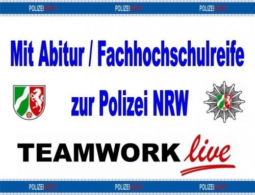POL-REK: Polizeinachwuchs aufgepasst! / Rhein-Erft-Kreis