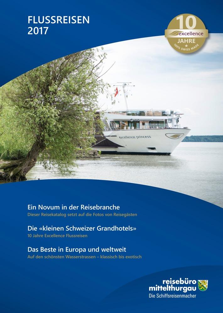 10 Jahre Excellence und ein Flussreise-Katalog, der anders ist
