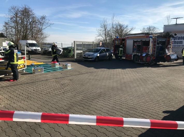 FW-BO: Unklarer Gasgeruch in Bochum-Hamme