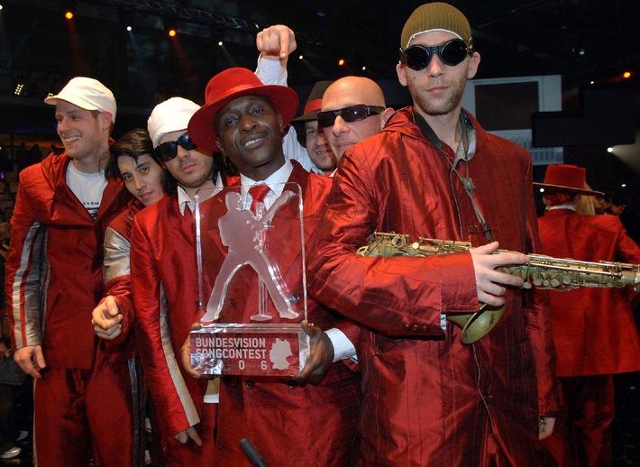 """Achtung Korrektur: Berlin rockt! """"Seeed"""" gewinnt den """"Bundesvision Song Contest 2006"""""""