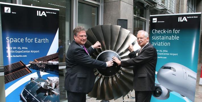 ILA 2014 spiegelt als Leistungsschau der Aerospace-Industrie die  Innovationskraft dieser Hightech-Branche wider / Publikumswochenende vermittelt hautnah die ganze Faszination der Luft- und Raumfahrt