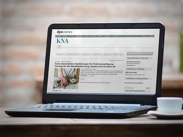"""dpa und KNA erweitern Zusammenarbeit: KNA-Inhalte zukünftig im dpa-news-Portal Weiterer Text über ots und www.presseportal.de/nr/8218 / Die Verwendung dieses Bildes ist für redaktionelle Zwecke honorarfrei. Veröffentlichung bitte unter Quellenangabe: """"obs/dpa/KNA"""""""