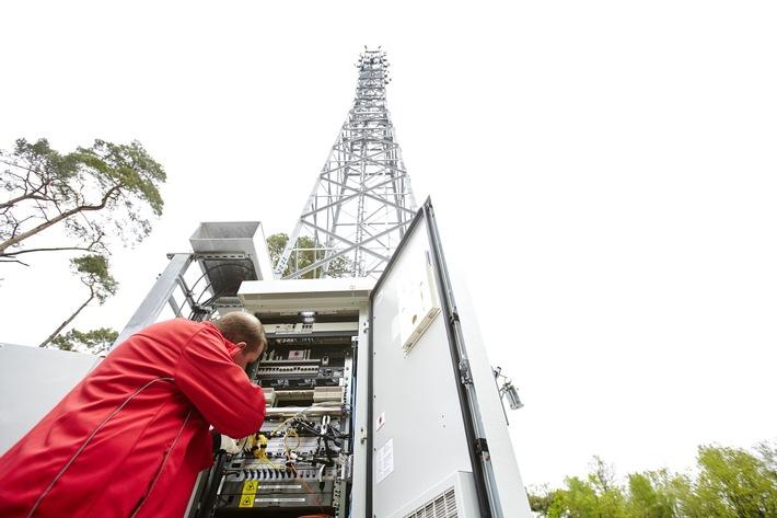 LTE-Infrastruktur ausgebaut: Vodafone bringt mobiles Breitband-Internet nach Fredersdorf