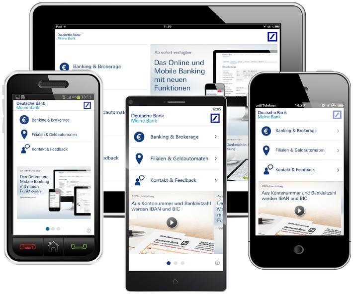 Deutsche Bank App Meine Bank Für Alle Smartphones Und Tablets