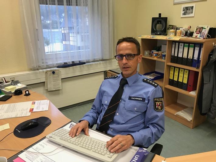 POL-PDMT: Neuer stellvertretender Leiter der Polizeiinspektion St. Goarshausen