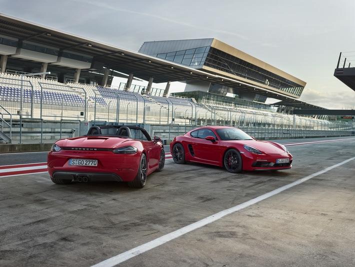 Auf Design und Sportlichkeit getrimmt - die neuen Porsche 718 GTS-Modelle