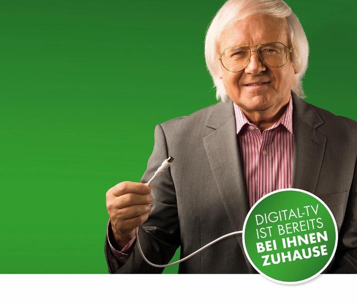 Umstieg auf digitales Fernsehen: Informationskampagne von Pro Senectute Schweiz und Swisscable