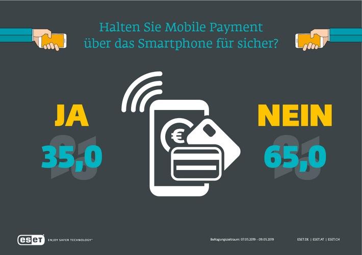 65 Prozent der Verbraucher halten mobile Bezahlsysteme für unsicher (FOTO)