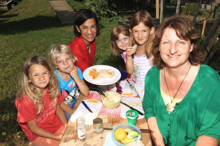 Projekt Gartenkinder der Stiftung Besser essen. Besser leben. / Tomaten wachsen nicht im Supermarkt