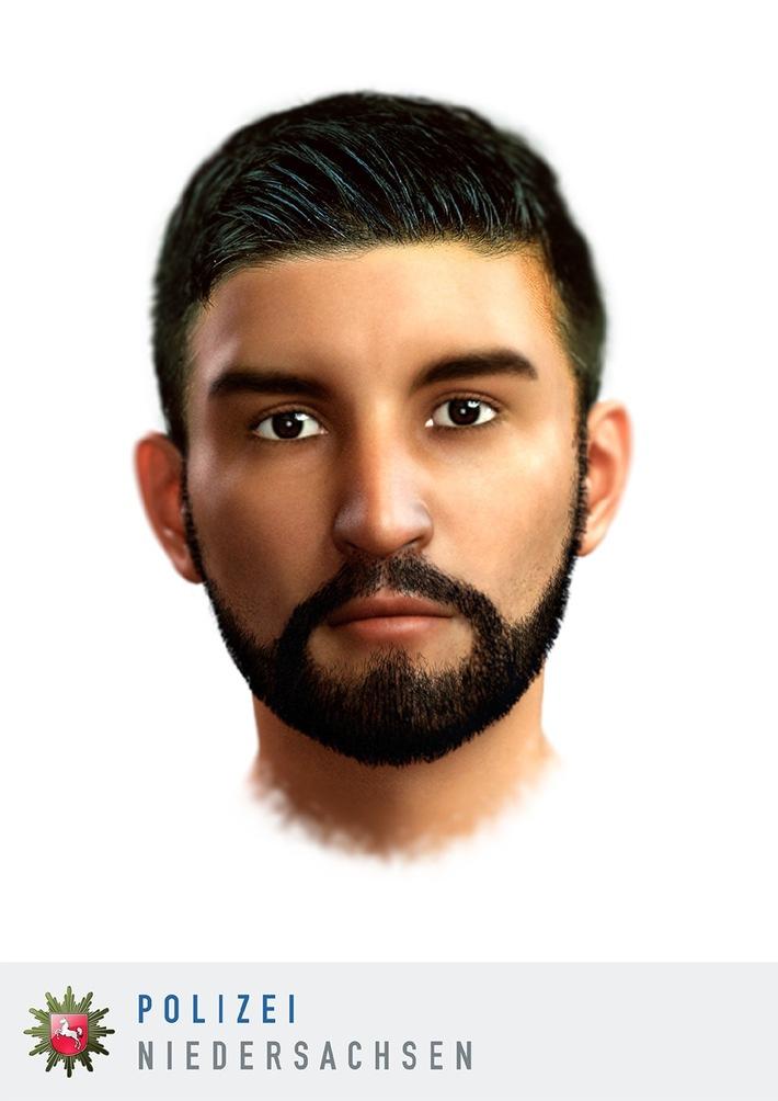 Wer kennt diesen Mann ? Hinweise zu dem Tatverdächtigen bitte an die Polizei Bückeburg