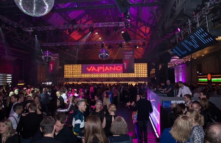 VAPIANO feiert gelungene Premiere bei 1LIVE Krone 2016