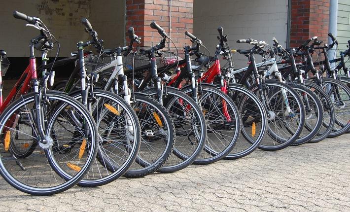 Foto: Polizei (Wem gehören die Fahrräder?)