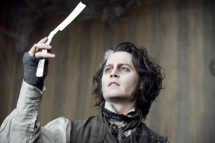 """Mord-Operette: Johnny Depp ist """"Sweeney Todd"""" am Sonntag auf ProSieben"""
