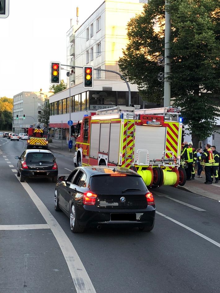Rund um die Buererstraße kam es zu Beeinträchtigungen des Verkehrs.