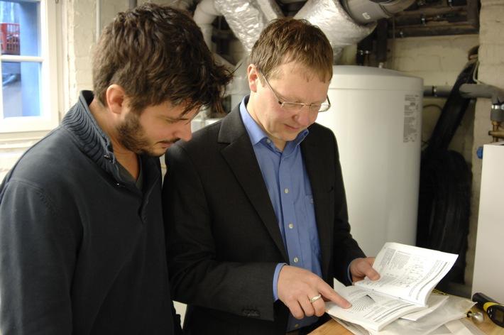 Austausch veralteter Heizkessel lohnt sich / Heizungsmodernisierung spart Energie und Heizkosten