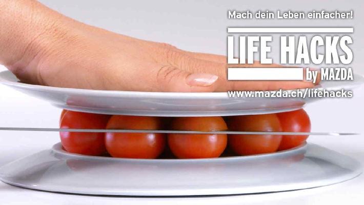 LIFE HACKS by MAZDA: Praktische Lebenshilfe statt klassische Werbung / Der japanische Automobilhersteller Mazda geht offen damit um, eine andersdenkende Marke zu sein