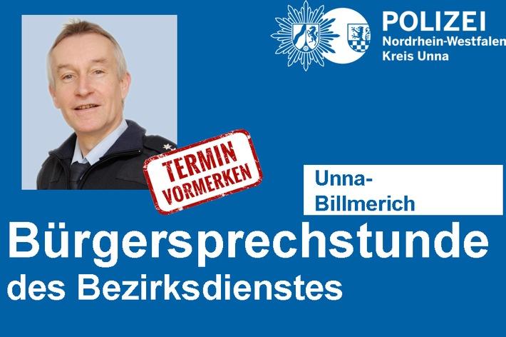 Bürgersprechstunde Hubertus Luhmann