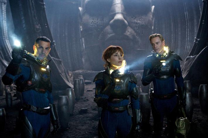 """God is an Alien: Ridley Scotts Science-Fiction-Schocker """"Prometheus"""" am 20. Juli 2014 auf ProSieben"""