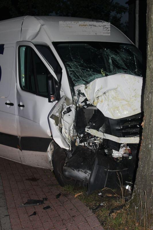 Unfall auf der Windelsbleicher Straße
