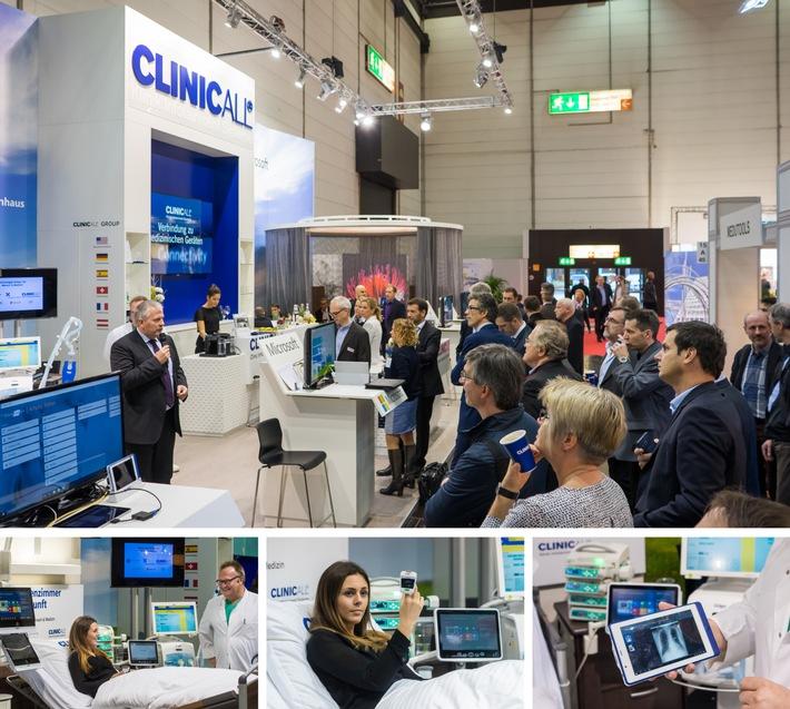 Live-Premiere auf der MEDICA: ClinicAll zeigt als einer der ersten Echtzeit-Zugriff auf die digitale Patientenakte am Krankenbett