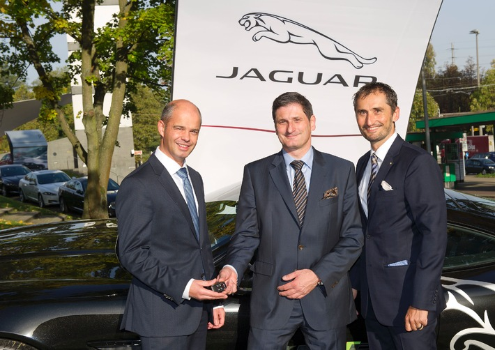 "Swiss Indoors Basel: Jaguar ""Official Car Supplier"""