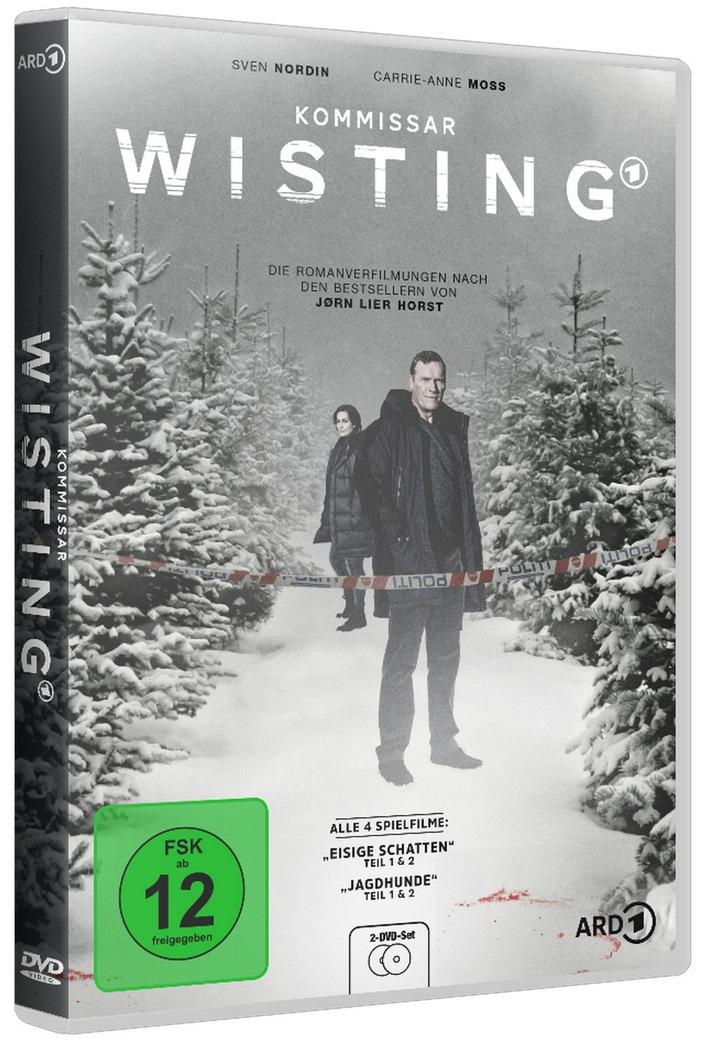 Kommissar Wisting Eisige Schatten (1+2) & Jagdhunde (1+2) ab 13. November digital, auf DVD und Blu-ray erhältlich