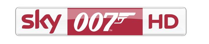 Zwei Monate James Bond rund um die Uhr: Sky 007 HD macht Deutschland zum Bondland