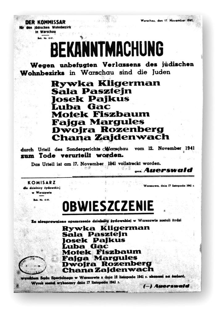 Oneg Schabbat / Das Untergrundarchiv des Warschauer Ghettos - Ringelblum-Archiv