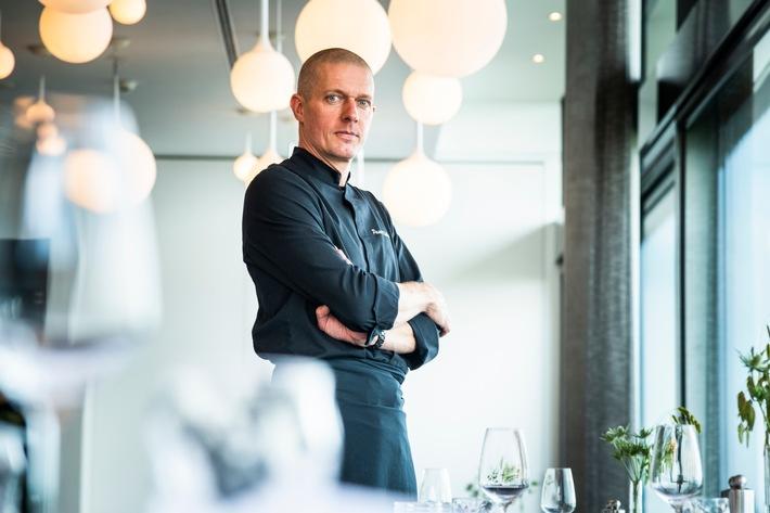 Pascal Kleber im Hotel Belvoir Rüschlikon neu mit 15 GaultMillau-Punkten unterwegs
